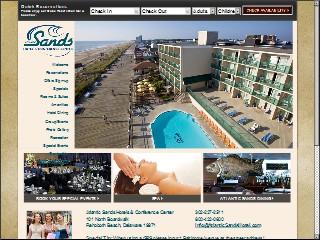 Atlantic Sands Hotel 101 N Boardwalk Rehoboth Beach Sussex